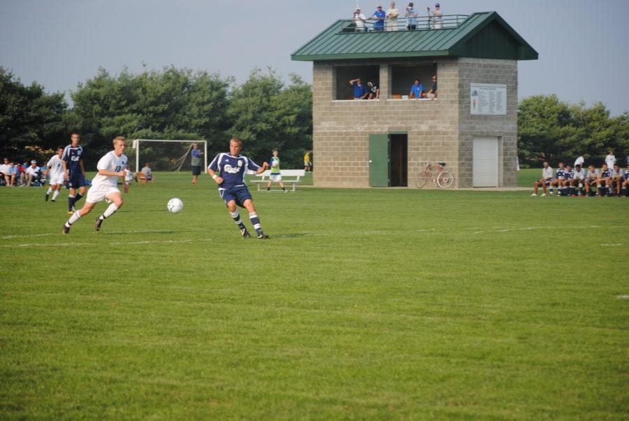 Mens Soccer Takes on Center Grove Trojans