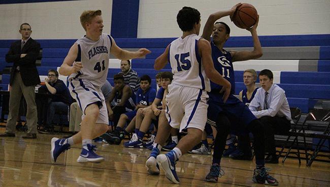 Mens Freshmen Basketball vs. Franklin Central 12/11/15
