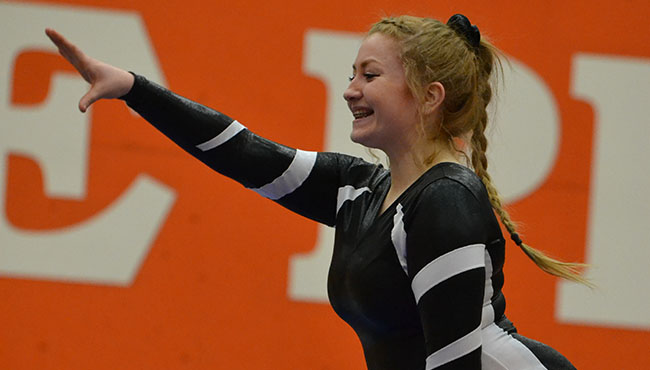 Gymnastics+Competes+in+Home+Match+Against+Owls