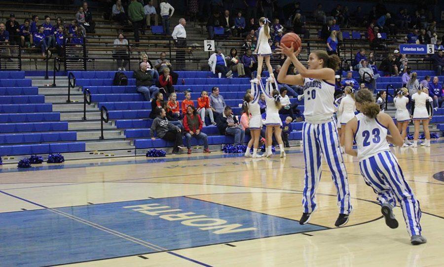 Women's basketball game against Martinsville