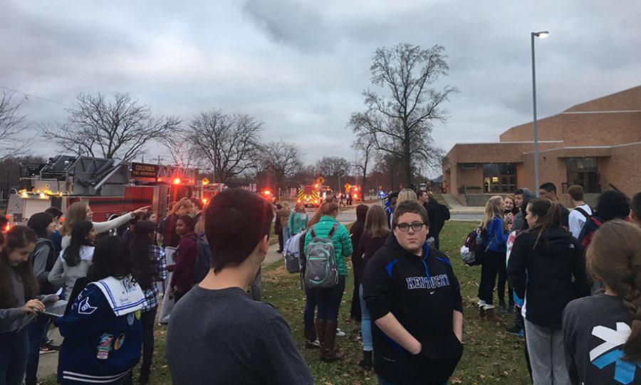 Due to fire, choir performance moved to cafeteria