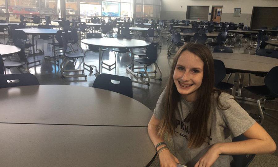 Freshmen on campus lunch rule