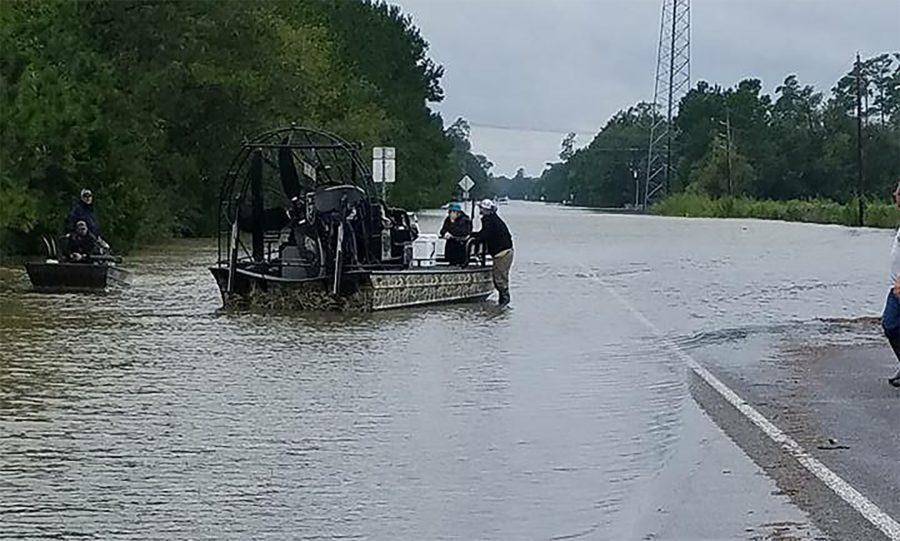 Hurricane+Harvey+Slams+Through+Texas