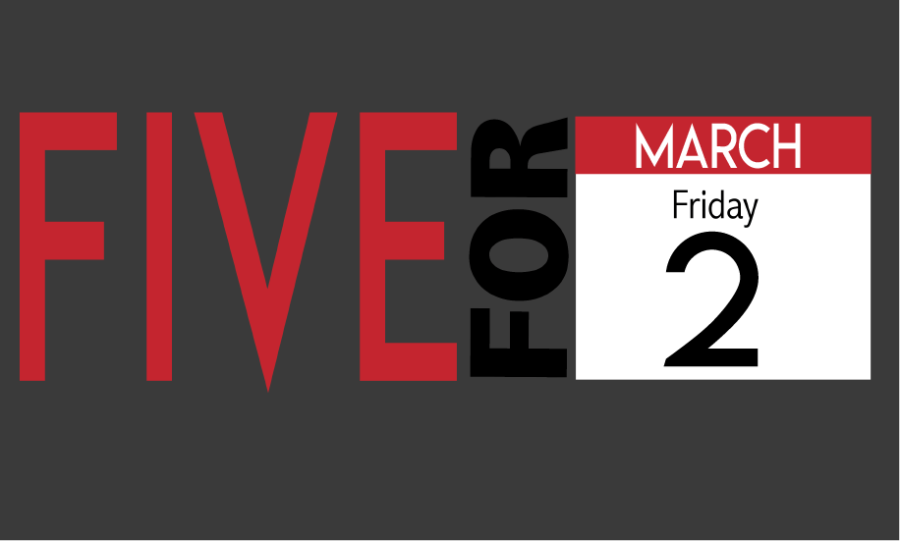Five+for+Friday+March+2